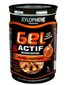 Xylophene gel actif poutres et charpentes xylophene - Xylophene traitement poutres et charpentes ...